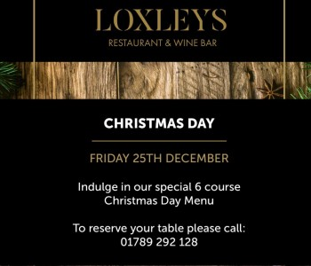 Reserve Now For Christmas Day!