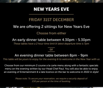 New Years Eve at Loxleys