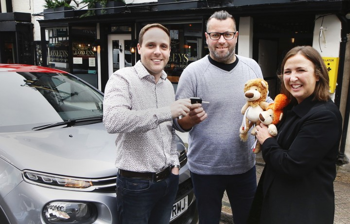 Food festival win-a-car raffle raises £6,000 for Molly Olly's Wishes