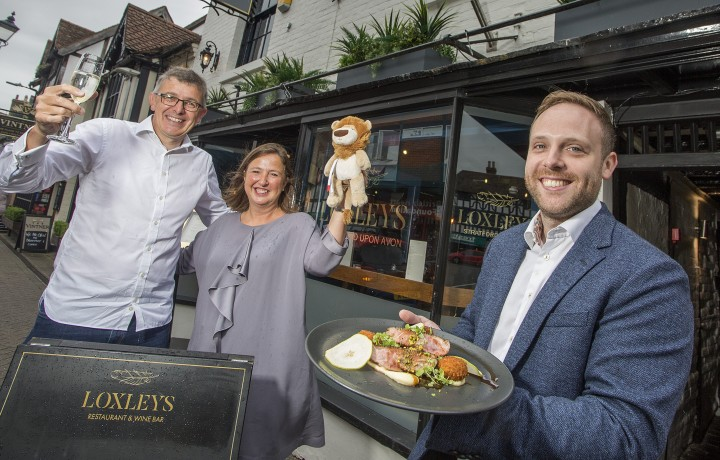 Loxleys is back as sponsor of the Stratford Town Centre Food Festival