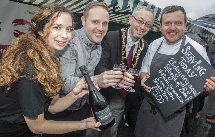Loxleys sponsors Stratford Town Centre Food Festival